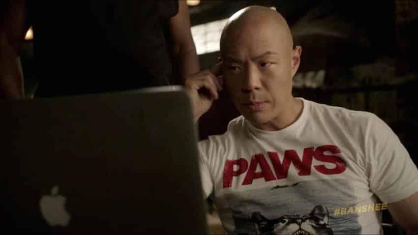 Hoon Lee da vida al personaje de Job en 'Banshee'.