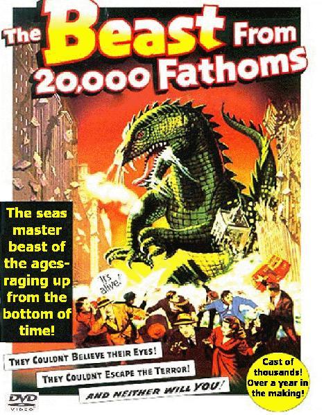 Cartel de la Bestia de las 20,000 Brazas