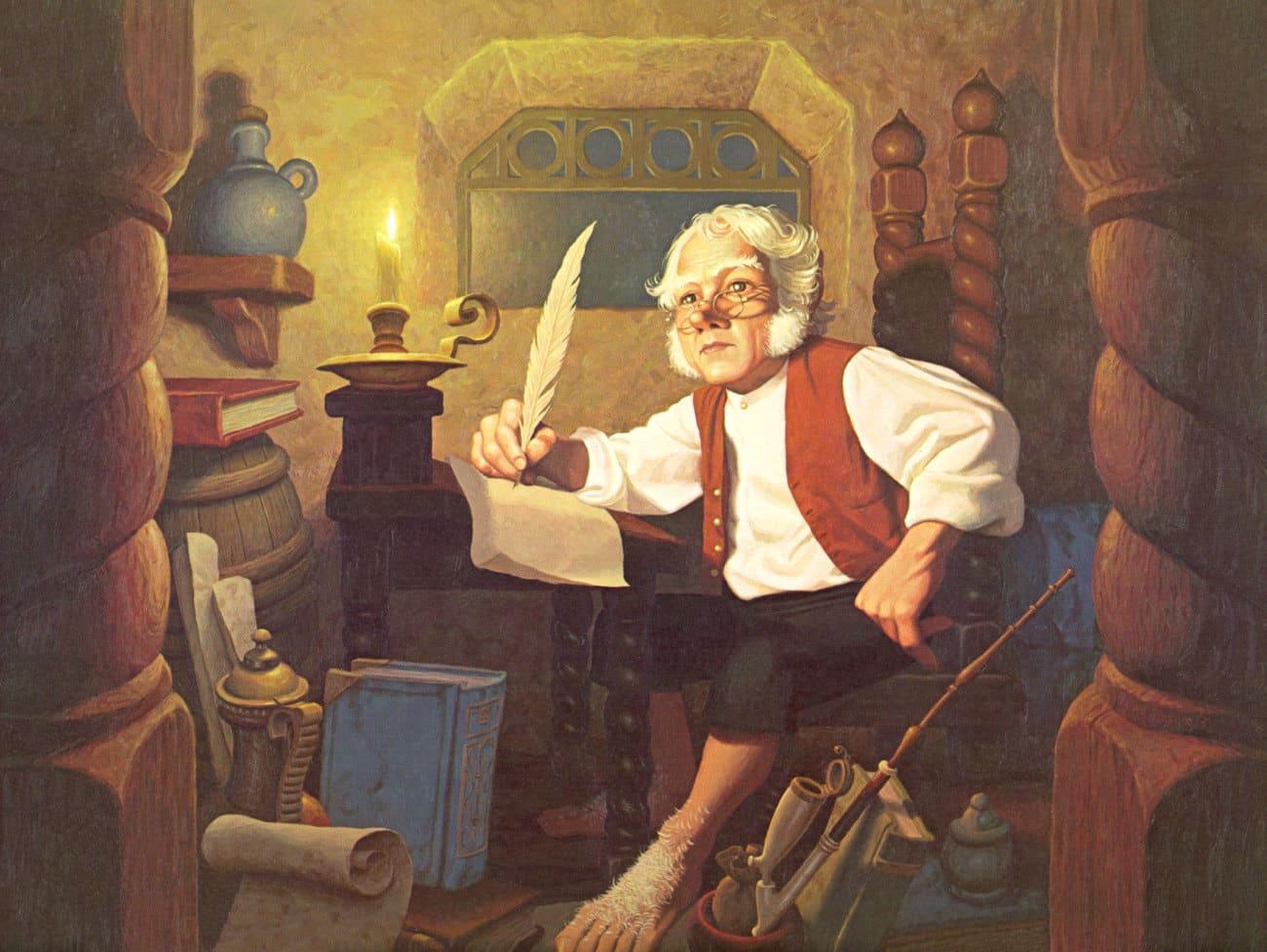 Bilbo Baggins, según el libro original