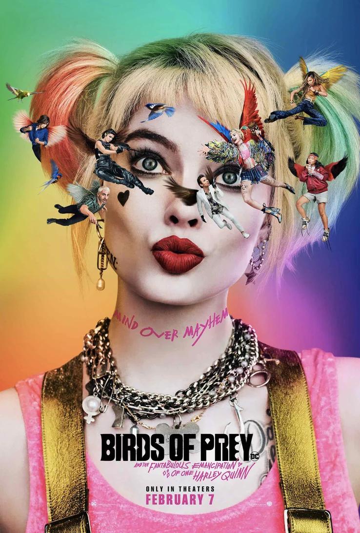 ¡Birds of Prey revela su primer póster oficial!