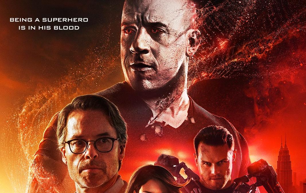 Bloodshot presenta nuevo póster promocional versión internacional