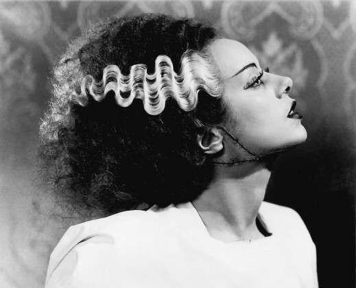 Elsa Lanchester como la Novia de Frankenstein