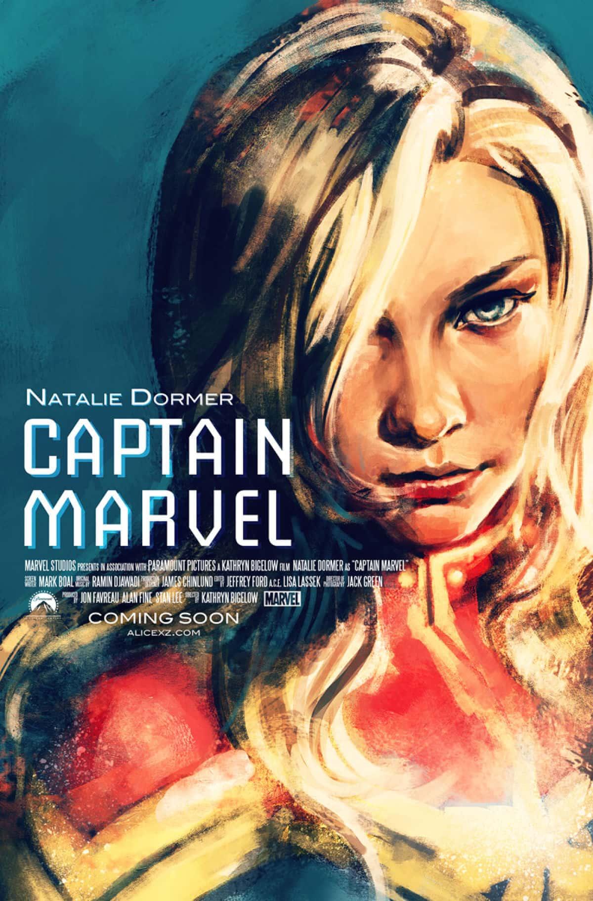 Natalie Dormer Captain Marvel
