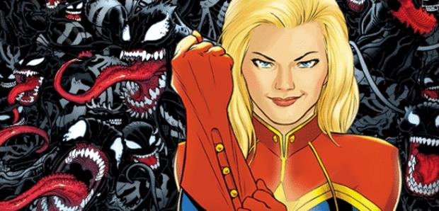 Captain Marvel Symbiots