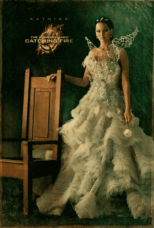 "Katniss / ""Los juegos del hambre 2: En llamas"" (The Hunger Games: Catching Fire)"