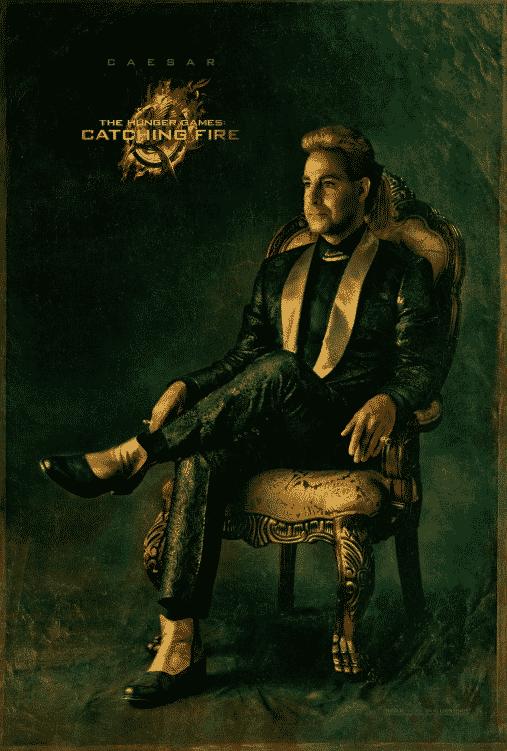 """Caesar / """"Los juegos del hambre 2: En llamas"""" (The Hunger Games: Catching Fire)"""