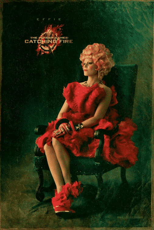 "Effie / ""Los juegos del hambre 2: En llamas"" (The Hunger Games: Catching Fire)"