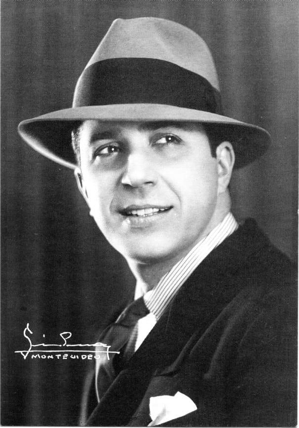 El legendario Carlos Gardel