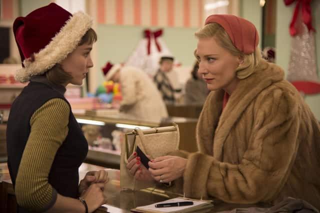 Cate Blanchett y Rooney Mara protagonizan el drama 'Carol'. © 2015 The Weinstein Company.