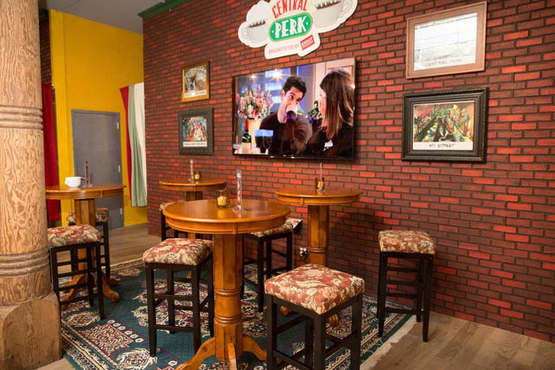 Este es uno de los espacios en donde se recordará a Friends. Foto: WBEI