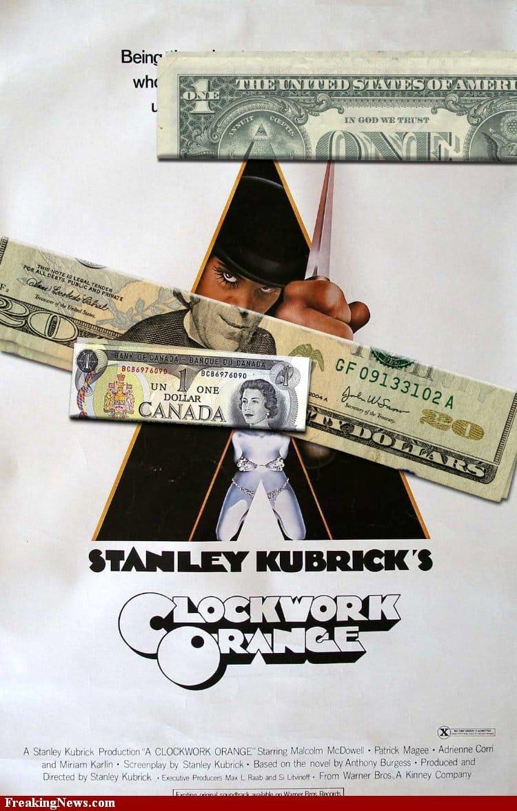 Clockwork Orange / freakingnews.com