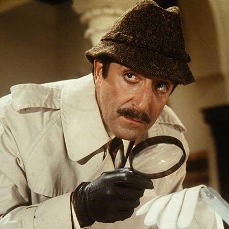 Peter Sellers como el Inspector Clouseau