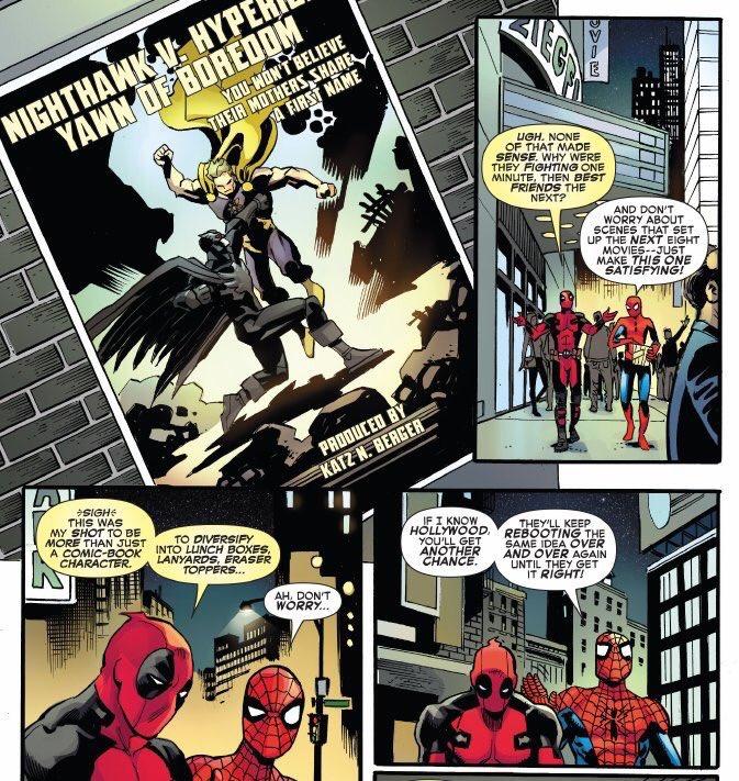 Spider Man, Deadpool, Marvel