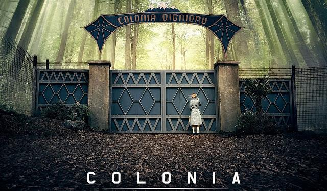 Emma Watson protagoniza el drama basado en hechos reales, 'Colonia'.