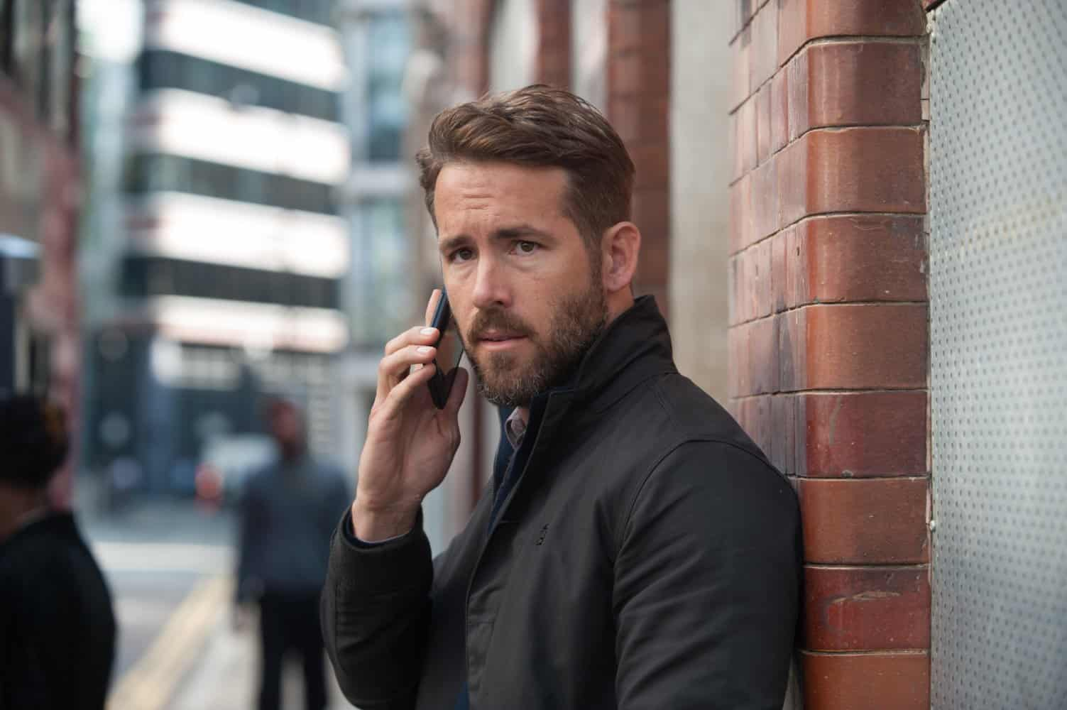 Ryan Reynolds en Mente Implacable, 2016.