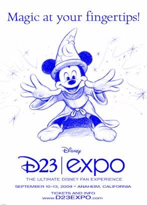 Logo de Expo D23
