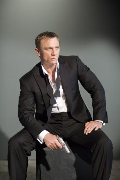 Daniel Craig como el 007