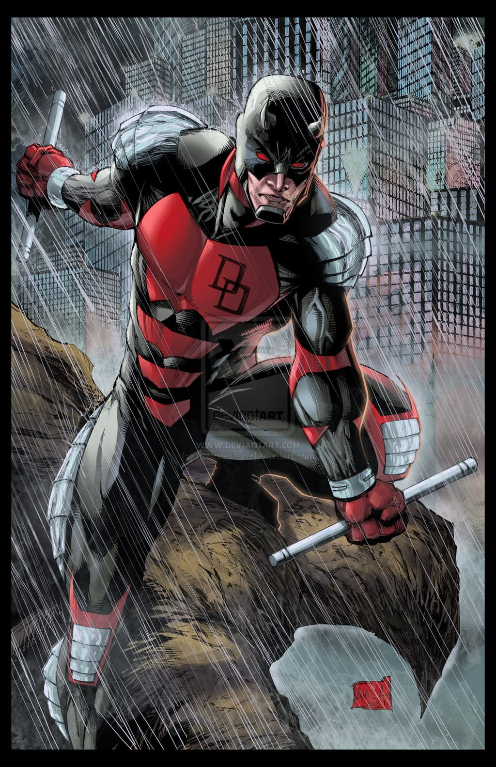 Daredevil Armored