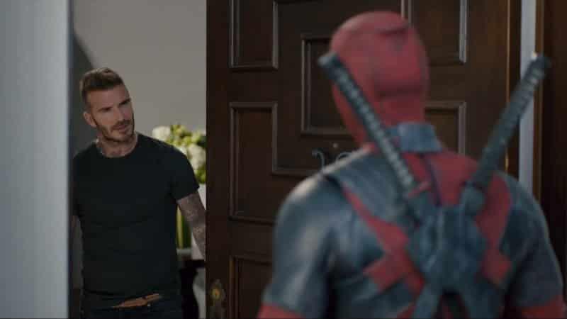 Deadpool pide disculpas a David Beckham en nueva promo de Deadpool 2