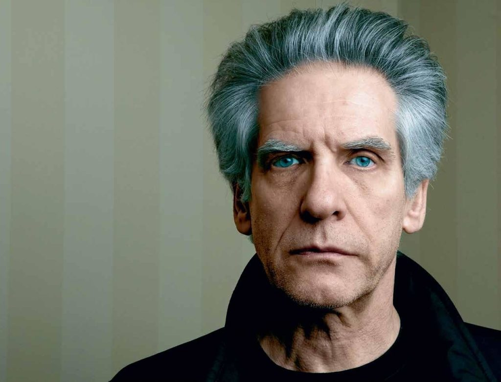 El director David Cronenberg
