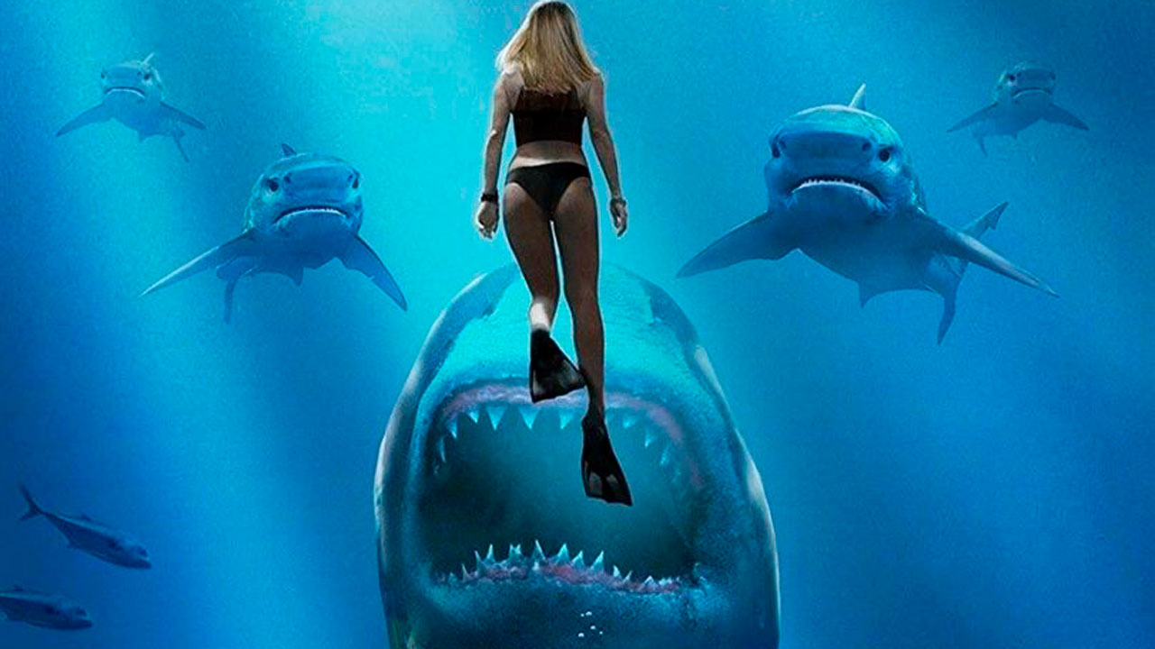 La secuela Deep Blue Sea 3 obtiene clasificación R y debut en streaming