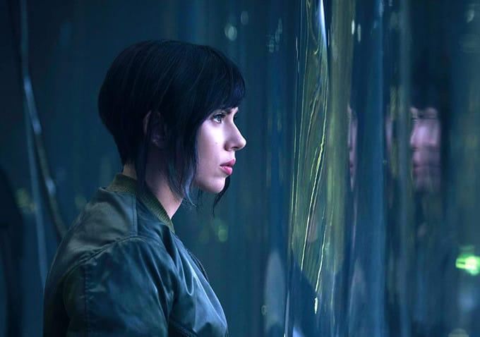 Scarlett Johansson, Ghost in the Shell