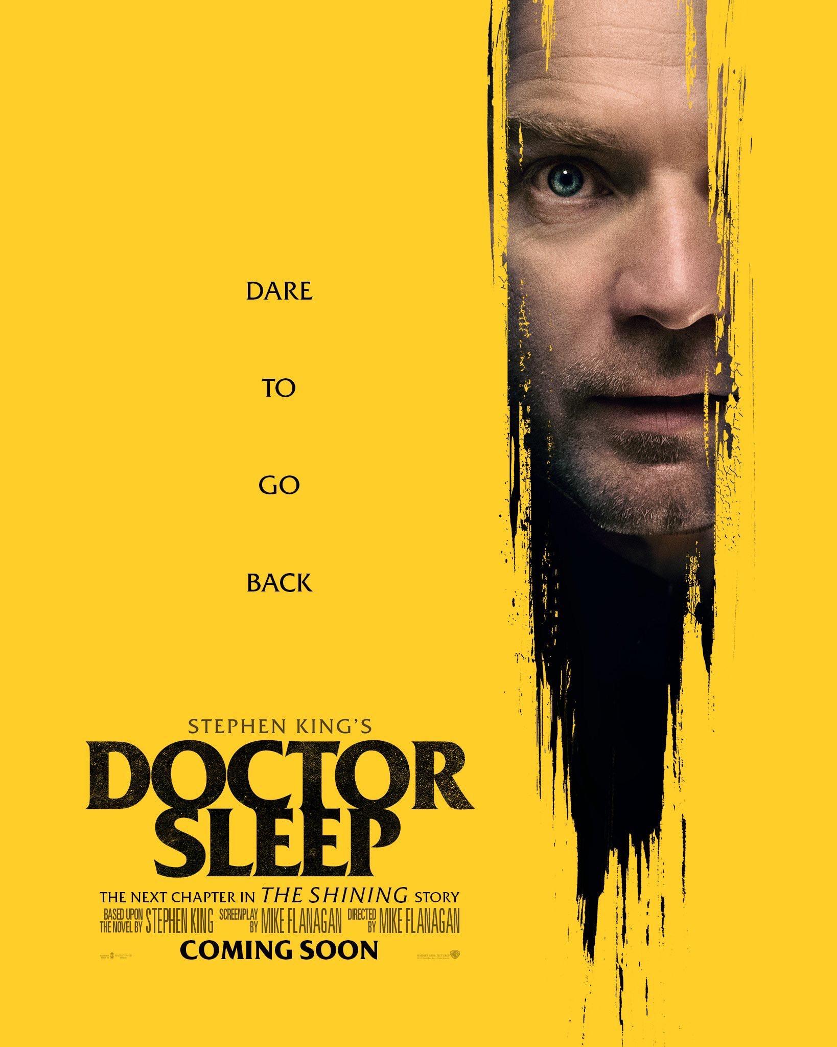 La película de terror Doctor Sleep te reta a regresar al Hotel Overlook con pósters promocionales
