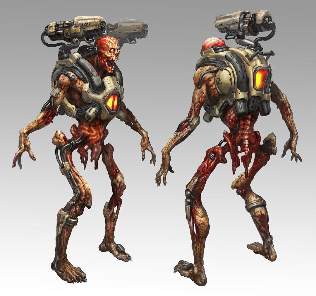 These #DOOM demons are tough! See the foes waiting for you in Hell in our concept art gallery on Bethesda.net