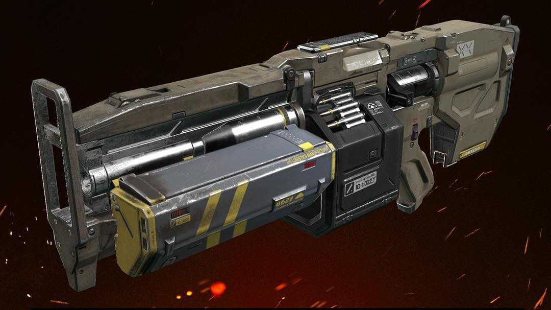 """Unlock the """"Specialist"""" achievement after earning the Mastery level of your favorite #DOOM weapon mod."""