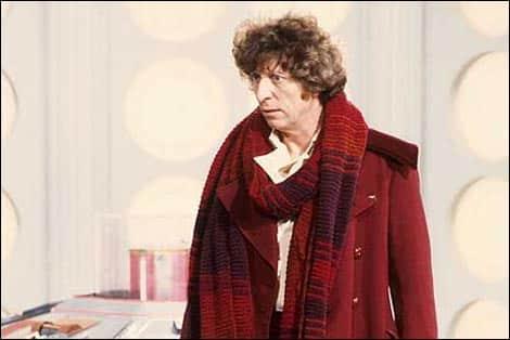 Tom Baker como el Doctor Who