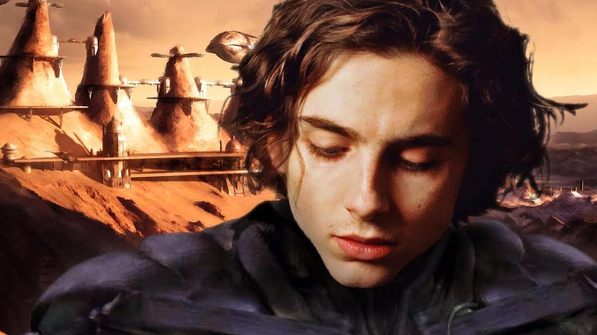 Primer vistazo al remake de Dune de Denis Villeneuve y Legendary Pictures