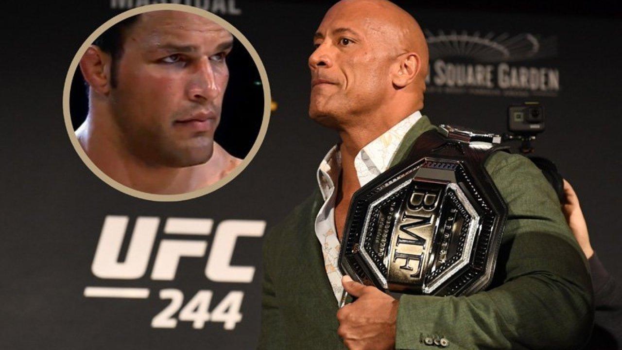 The Rock hará película sobre el campeón de la UFC, Mark Kerr