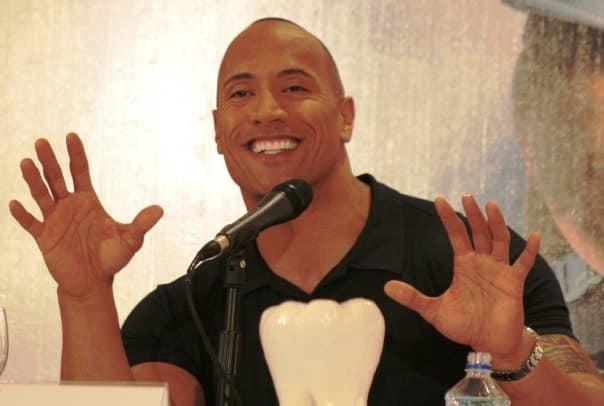El ex luchador hizo gala de su contagioso buen humor. Foto: Enrique Gallegos