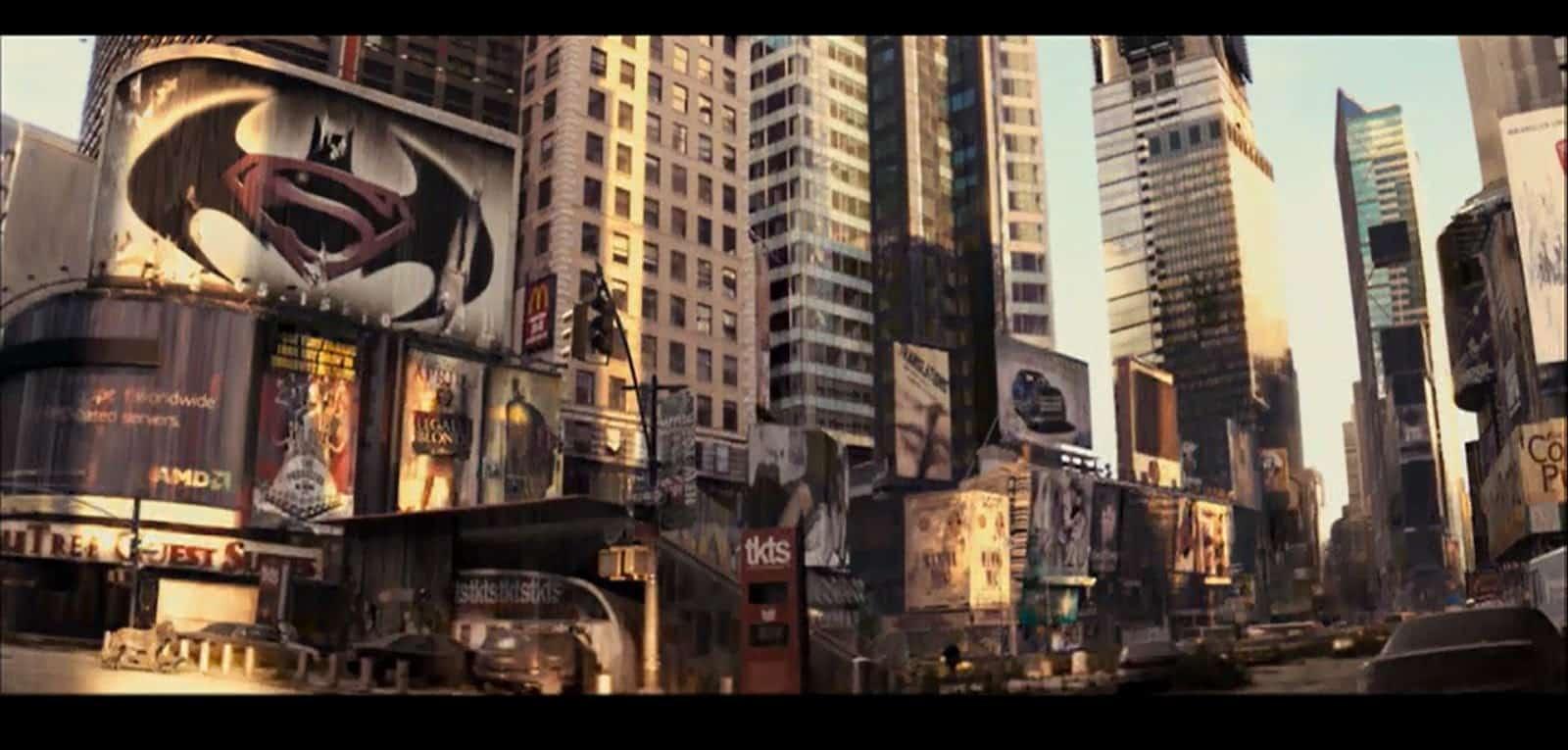 Batman vs Superman en Soy Leyenda