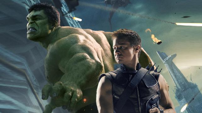 Hulk Hawkeye