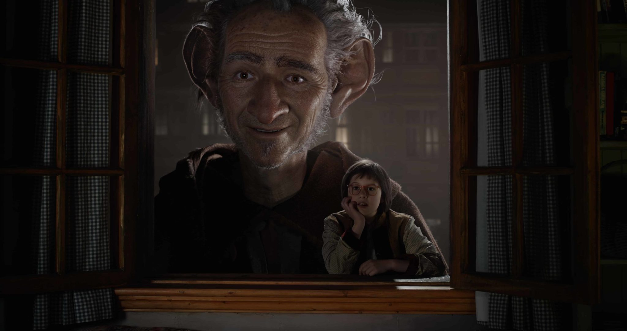 """Disney""""s THE BFG is the imaginative story of a young girl named Sophie (Ruby Barnhill) and the Big Friendly Giant (Oscar(R) winner Mark Rylance) who introduces her to the wonders and perils of Giant Country. Directed by Steven Spielberg based on Roald Dahl's beloved classic, the film opens in theaters nationwide on July 1."""