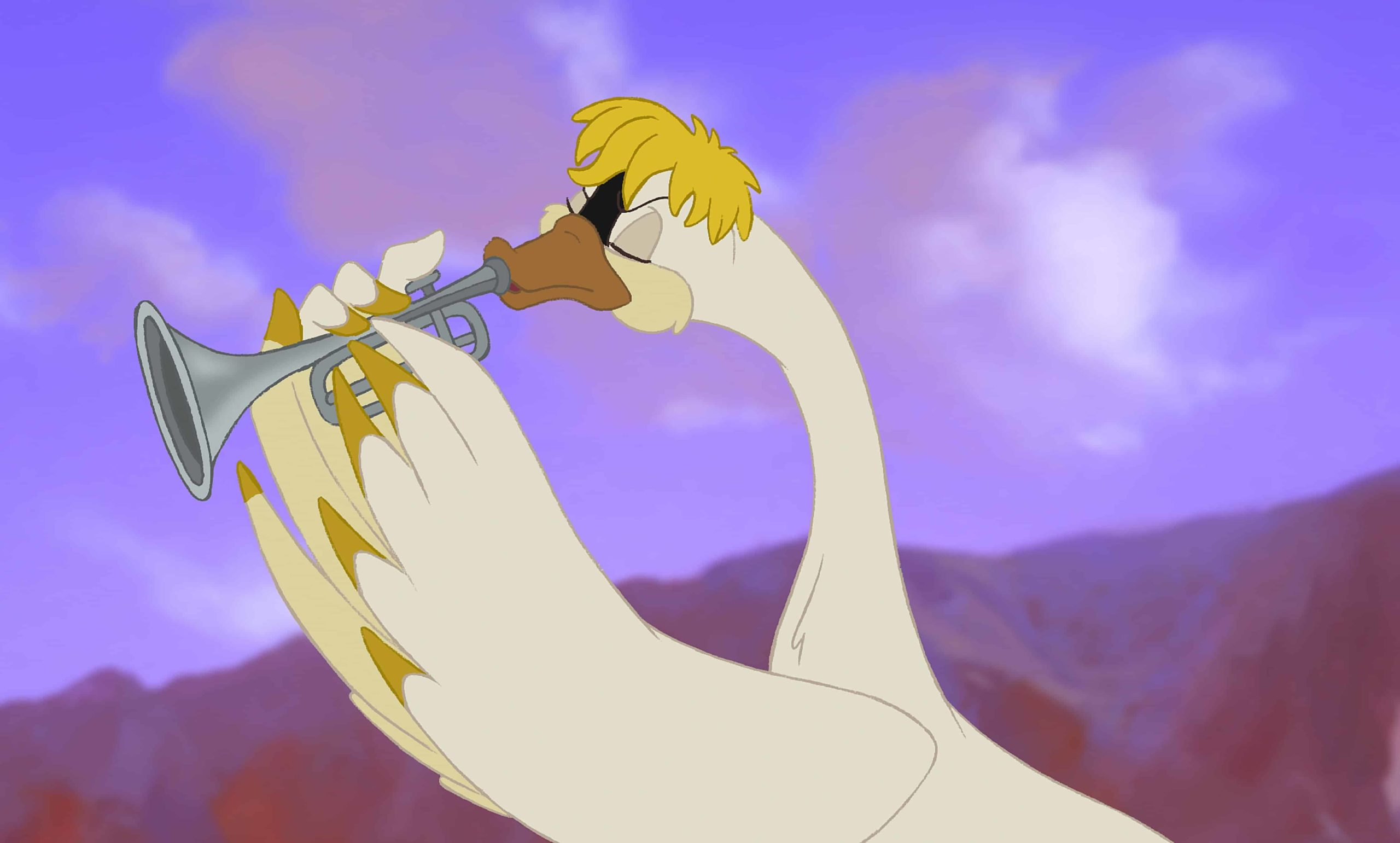 Escena de El Cisne Trompetista