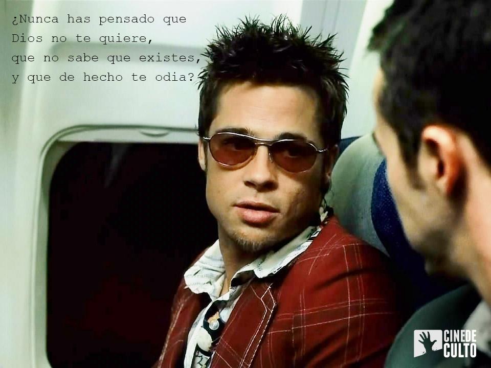 """Brad Pitt, protagonista de """"El Club de la Lucha"""""""