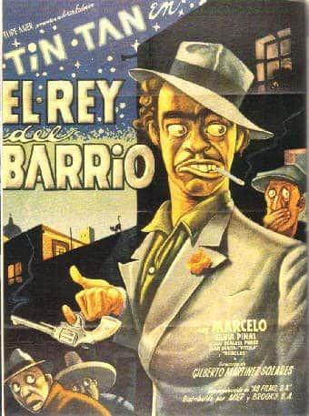 Cartel de El Rey del Barrio