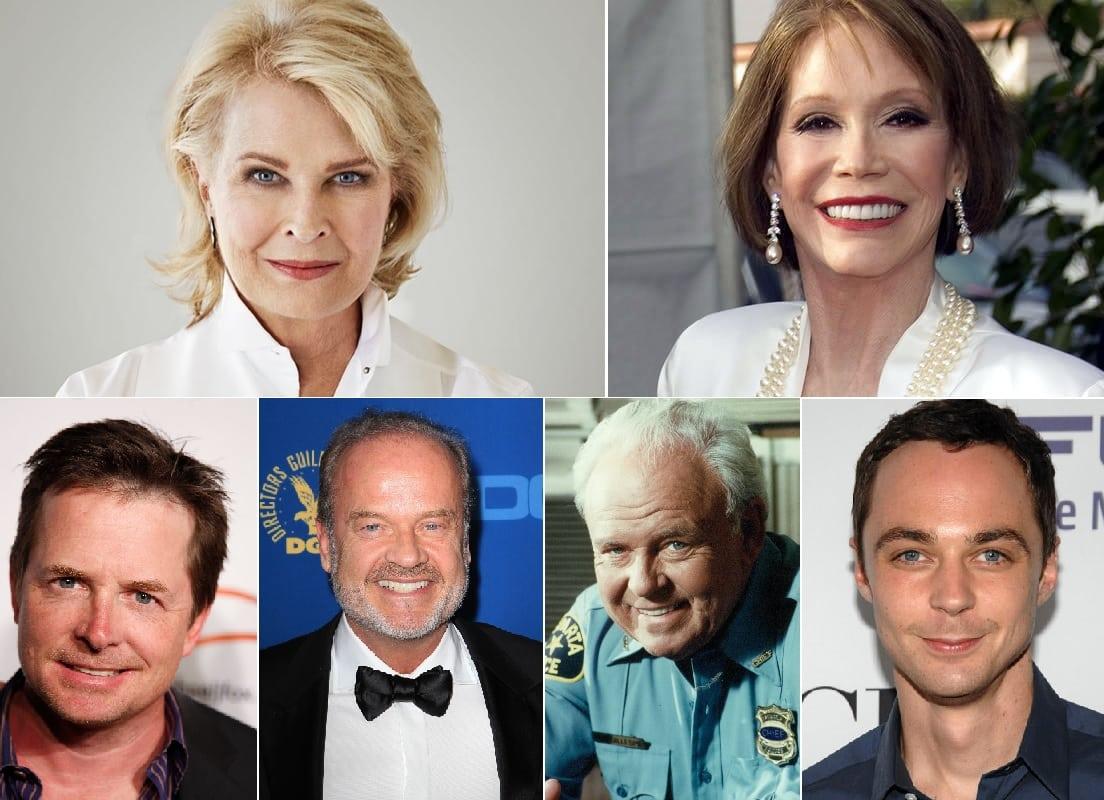 Los que más veces han ganado en la categoría Mejor Actor/Actriz de Comedia.