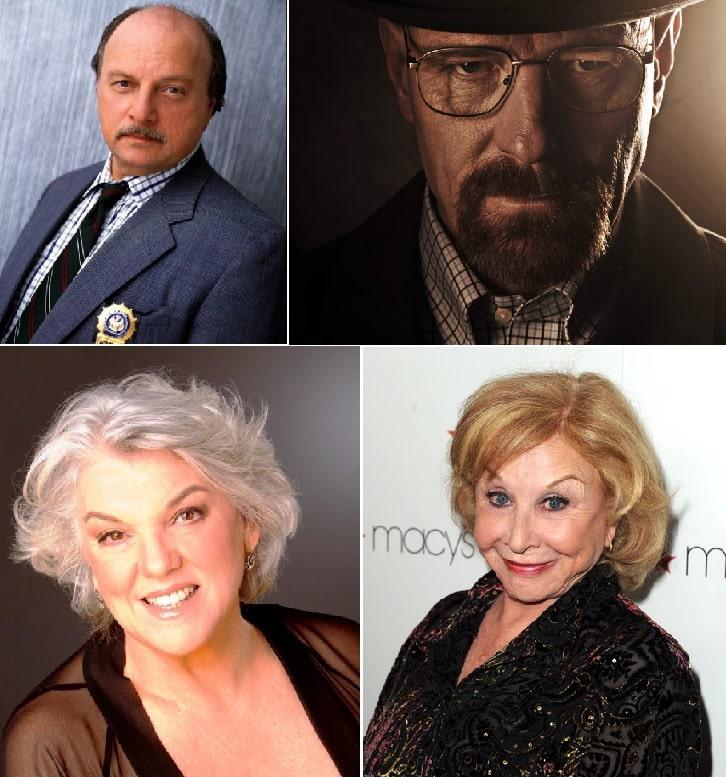 Los que más veces han ganado en la categoría Mejor Actor/Actriz Drama.