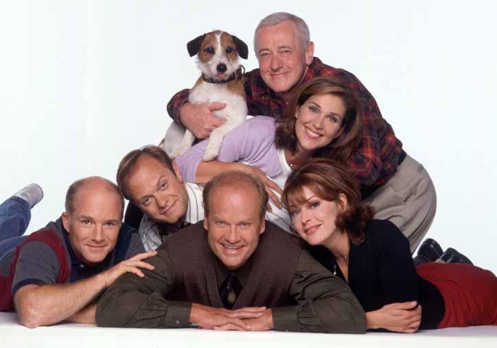 Frasier es la más ganadora al incluir todas las categorías de comedia de los Emmy.