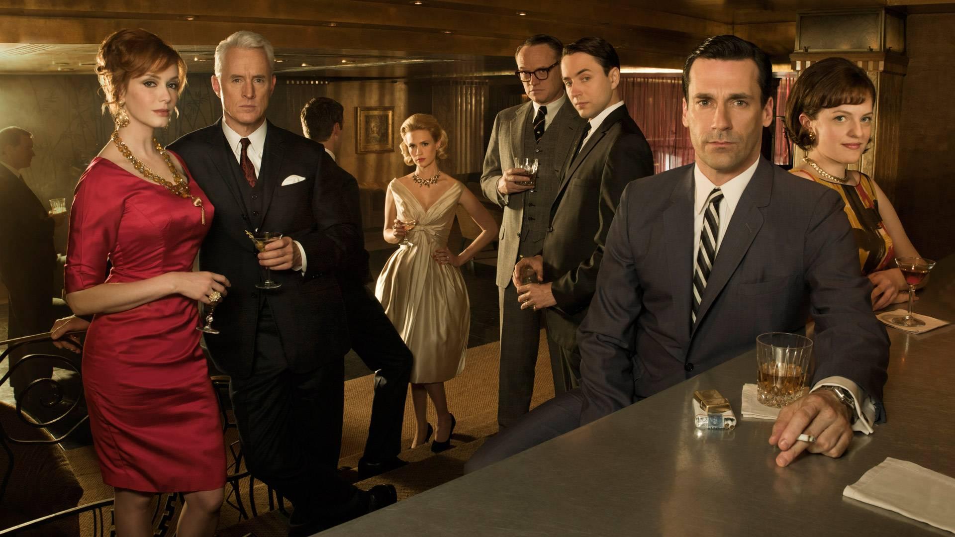 Mad Men comparte el honor de la serie de Drama más ganadora en los Emmys con L.A. Law, Hill Street Blues y The West Wing.