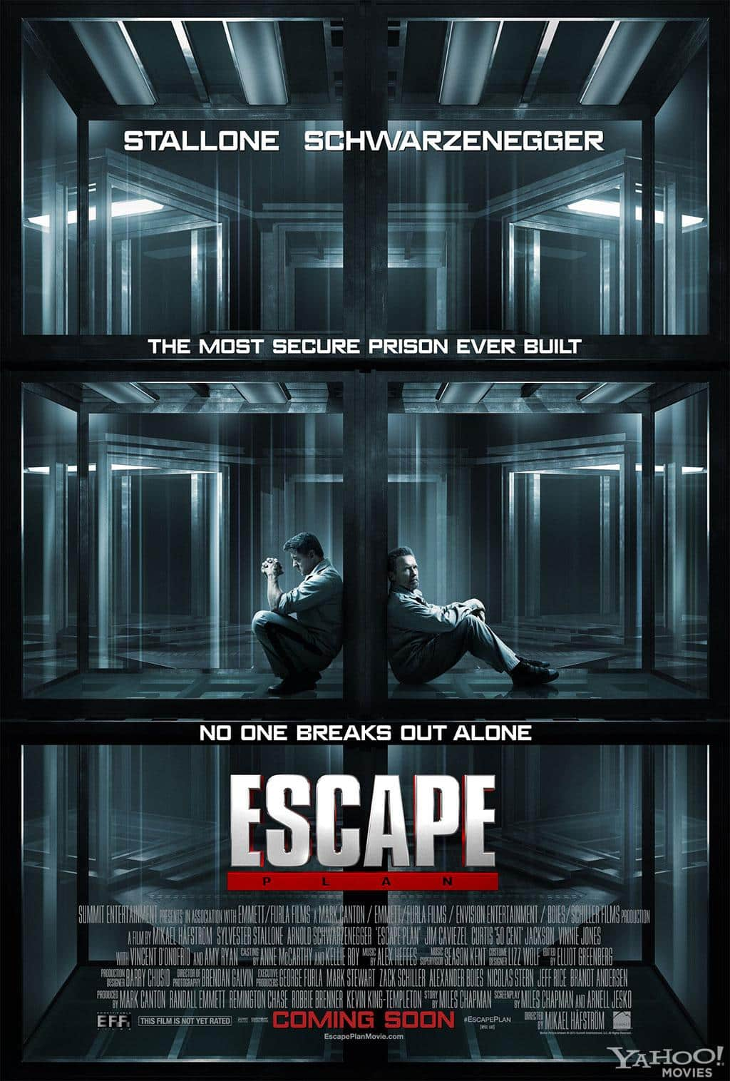"Poster de ""Plan de Escape"" (Escape Plan)"
