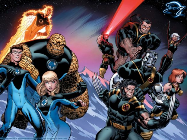 Fantastic Four y X-MEN