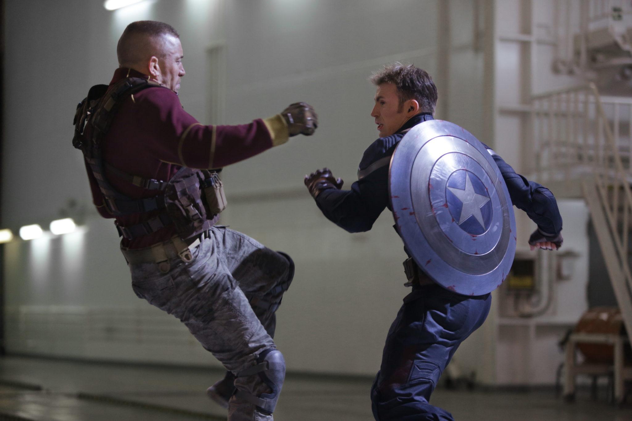 Cap America Fighting