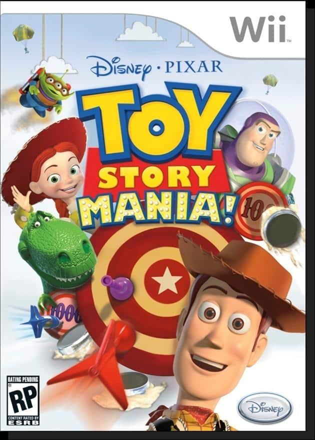 Portada de Toy Story Mania!