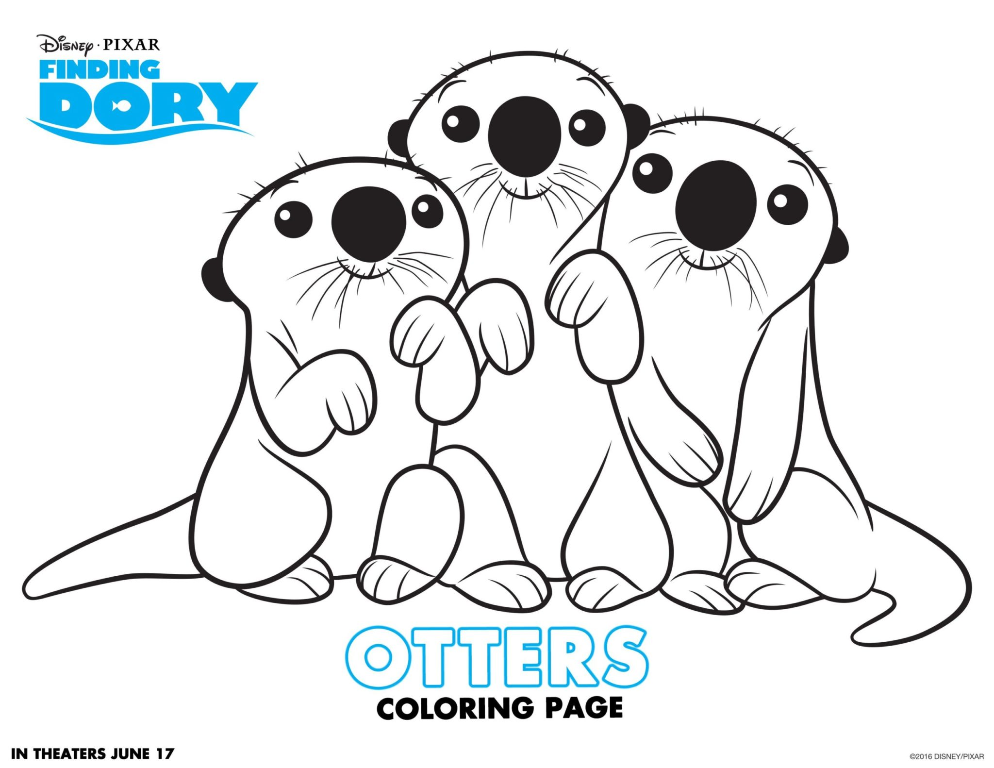 finding-dory-coloring-pages_otters