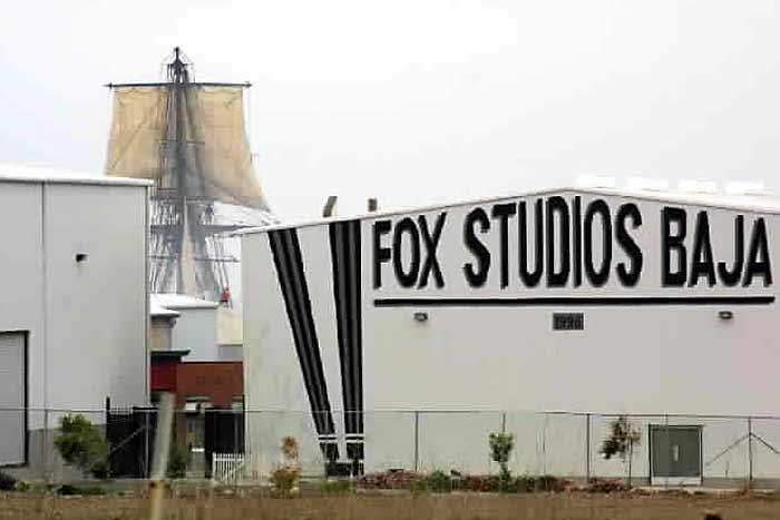 Estudios cinematográficos en Rosarito