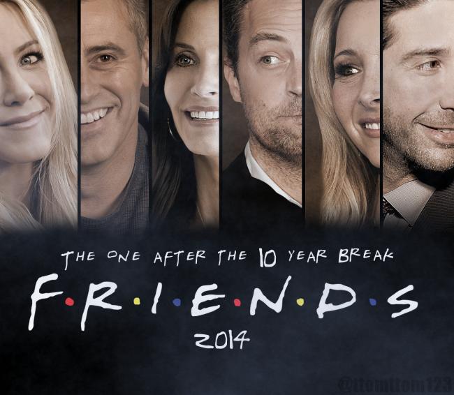 Mucho se rumoro de una posible reunión de Friends este 2014